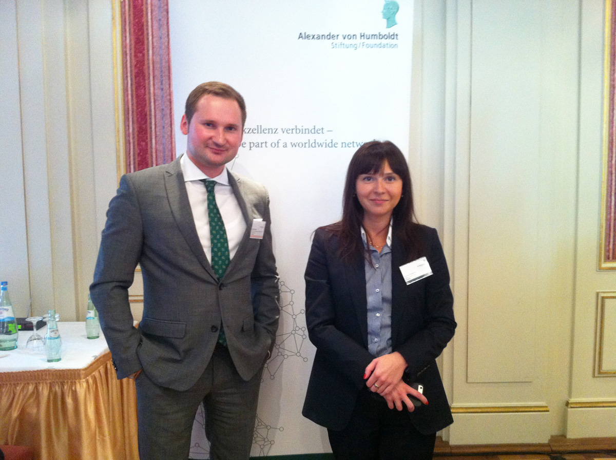 Promoting Masterminds: INTAMT welcomes German-Chancellor Fellow