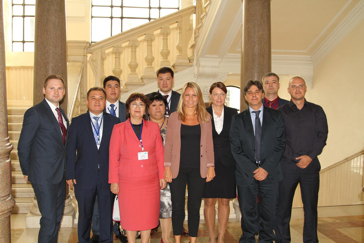 Управление государственным имуществом и поддержка малого и среднего бизнеса: менеджеры из России и Казахстана посетили Рим