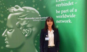 INTAMT является принимающей организацией для стипендиата Федерального канцлера Германии