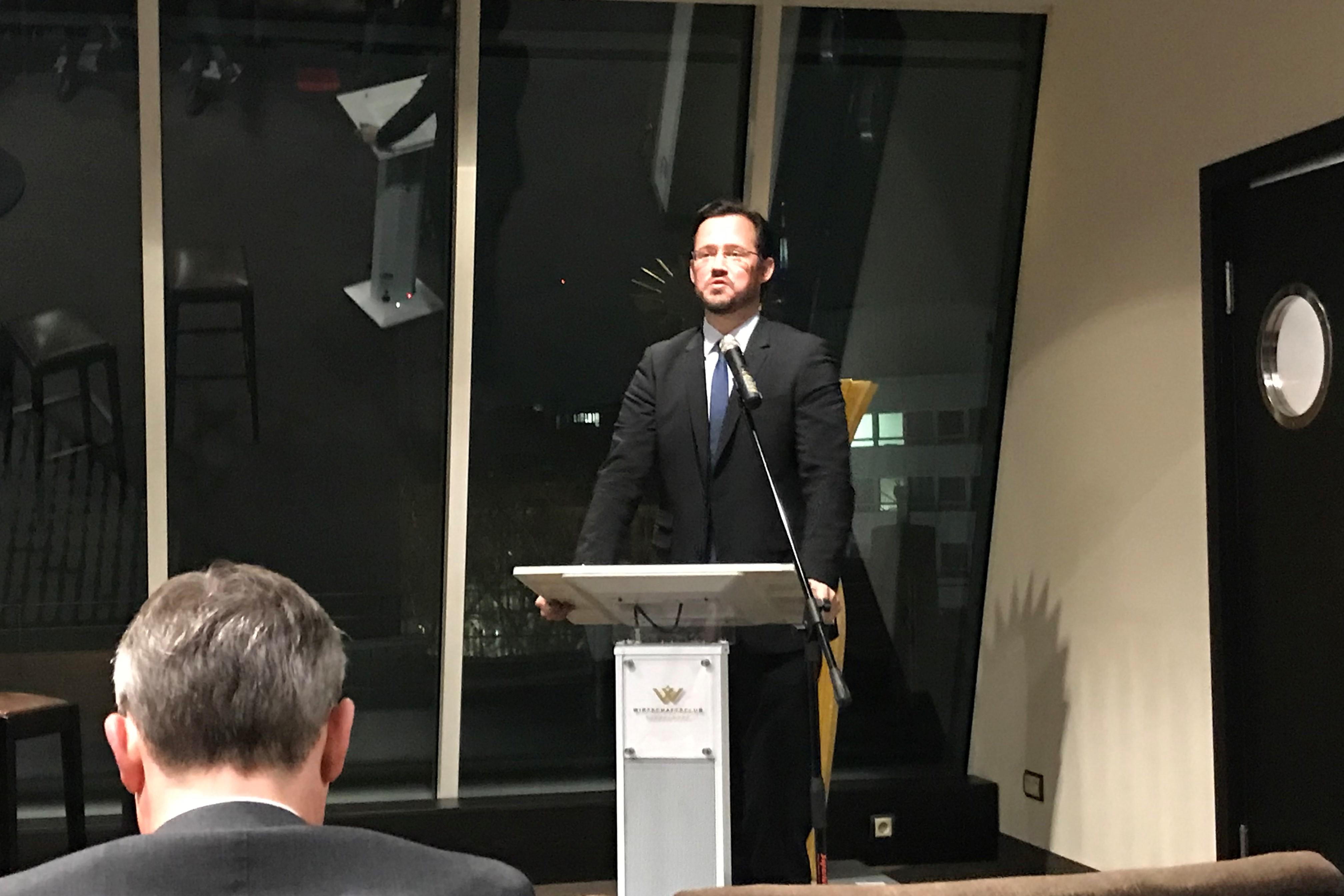 Führungkräfte der INTAMT-Akademie nahmen an einem Geschäftstreffen im Düsseldorfer Wirtschaftsclub teil